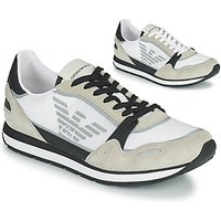 Emporio Armani  EMPAGNO  men's Shoes (Trainers) in White
