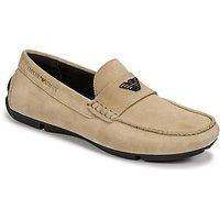 Emporio Armani  ITOLIA  men's Loafers / Casual Shoes in Beige