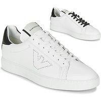 Emporio Armani  BELGA  men's Shoes (Trainers) in White