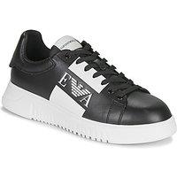 Emporio Armani  MALTA  men's Shoes (Trainers) in Black