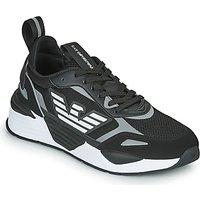 Emporio Armani EA7  BLACES  men's Shoes (Trainers) in Black