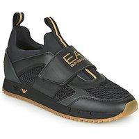 Emporio Armani EA7  CALMONI  men's Shoes (Trainers) in Black