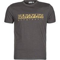 Napapijri  SALLAR SS  mens T shirt in Grey