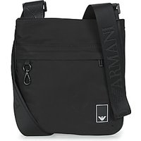 Emporio Armani  SMALL FLAT MESS. TRAVEL ESSENT - MESSENGER BAG  mens Pouch in Black
