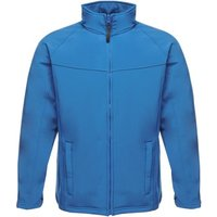 Professional-UPROAR-Interactive-Softshell-Jacket-Black-Blue-mens-Coat-in-Blue