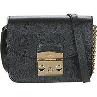 Furla  METROPOLIS MINI CROSSBODY  womens Shoulder Bag in Black