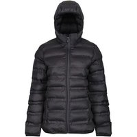 Professional  X-Pro Icefall III Insulated Quilted Jacket Black  womens Coat in Black