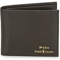 Polo Ralph Lauren  GLD FL BFC-WALLET-SMOOTH LEATHER  men's Purse wallet in Black