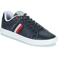 Tommy Hilfiger  ESSENTIAL LEATHER CUPSOLE  men's Shoes (Trainers) in Blue