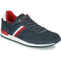 Tommy Hilfiger  ICONIC MATERIAL MIX RUNNER  men's Shoes (Trainers) in Blue