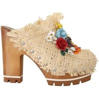 D G  -  womens Mules / Casual Shoes in multicolour