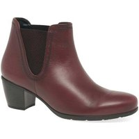 Gabor  Ecological Womens Ankle Boots  women's Mid Boots in Red