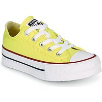 'Converse  Chuck Taylor All Star Lift Canvas Color Ox  Girls's Children's Shoes (trainers) In Yellow