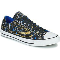 Converse  CHUCK TAYLOR ALL STAR ARCHIVE PRINT - PAINT SPLATTER OX  men's Shoes (Trainers) in Black