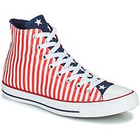 Converse  CHUCK TAYLOR ALL STAR STARS   STRIPES HI  men's Shoes (High-top Trainers) in White