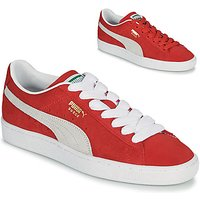 Puma  SUEDE  women's Shoes (Trainers) in Red