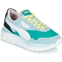 Puma  CRUISE RIDER SILK  women's Shoes (Trainers) in Blue