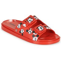 Melissa-WIDE-MICKEY--FRIENDS-AD-womens-Mules-Casual-Shoes-in-Red