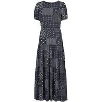 Lauren Ralph Lauren  MYRIAM  women's Long Dress in Blue