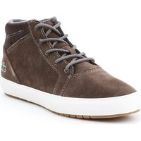 Lacoste Ampthill Chukka 417 1 Caw women's Shoes (High-top Trainers) in Brown