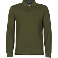 Polo Ralph Lauren  POLO AJUSTE DROIT EN COTON BASIC MESH LOGO PONY PLAYER  mens Polo shirt in Kaki
