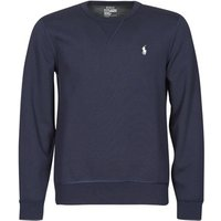 Polo Ralph Lauren  SWEATSHIRT COL ROND EN JOGGING DOUBLE KNIT TECH LOGO PONY PLAYER  men's Sweatshirt in Blue