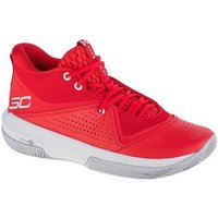 Under Armour  SC 3ZERO IV  mens Shoes (High-top Trainers) in Red