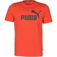 Puma  ESSENTIAL TEE  men's T shirt in Red