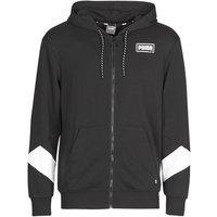 Puma  REBEL FZ HOOD  men's Sweatshirt in Black