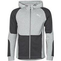 Puma  EVOSTRIPE FZ HOODY  men's Sweatshirt in Grey