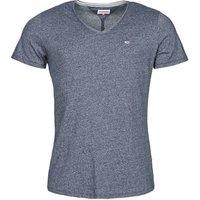Tommy Jeans  TJM SLIM JASPE V NECK  mens T shirt in Blue