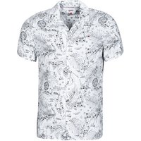 Tommy Jeans  TJM MIAMI PRINT CAMP SHIRT  men's Short sleeved Shirt in Multicolour