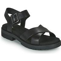 Clarks  ORINOCO STRAP  women's Sandals in Black