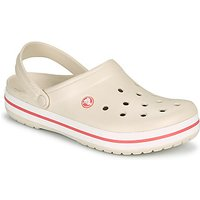 Crocs-CROCBAND-womens-Clogs-Shoes-in-Beige