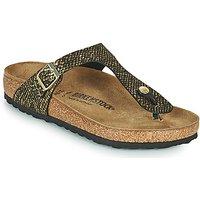 Birkenstock  GIZEH  women's Flip flops / Sandals (Shoes) in Black