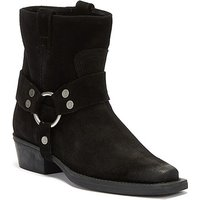 Bronx-No-Scene-Womens-Black-Boots-womens-Low-Ankle-Boots-in-Black