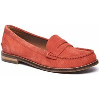 Woolovers  Petrel Suede Loafers  women's Loafers / Casual Shoes in Orange