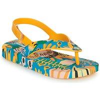 Melissa  MINI MELISSA   IPANEMA  boys's Children's Flip flops / Sandals in Yellow