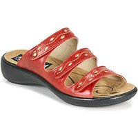 Romika Westland  IBIZA 66  women's Mules / Casual Shoes in Red