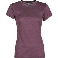 adidas  W Tivid Tee  women's T shirt in Purple