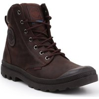 Palladium  Pampa Cuff WP LUX 73231-249-M  womens Shoes (High-top Trainers) in Brown