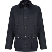 Professional  Banbury Water Repellent Wax Jacket Blue  mens Coat in Blue
