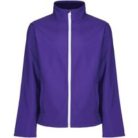 Professional  Ablaze Printable Softshell Jacket Purple  mens Coat in Purple
