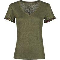Ikks  BS10255-56  women's T shirt in Kaki