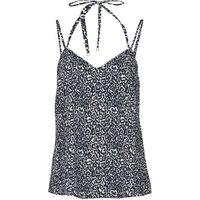 Ikks  BS11015-02  women's Vest top in Grey