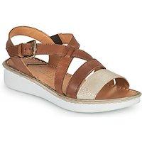 Casual Attitude  ODETTE  women's Sandals in Brown