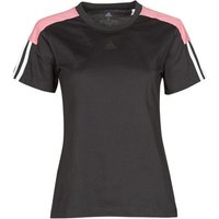 adidas  W CB LIN T  women's T shirt in Black