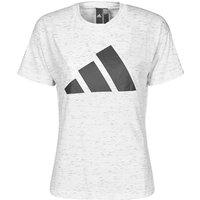 adidas  W WIN 2.0 TEE  women's T shirt in White