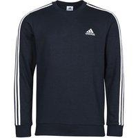 adidas  M 3S FT SWT  men's Sweatshirt in Blue