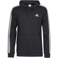 adidas  M 3S FL HD  men's Sweatshirt in Black